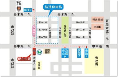 辦公室地點-中區業務組,中區業務組地圖