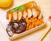 香菇肉豆盒餐