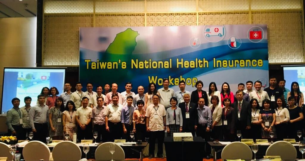 The Taiwan's National Health Insurance and Medical Information Exchange Workshop held in Hanoi, Vietnam yesterday.