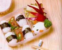 小白兔餐盒